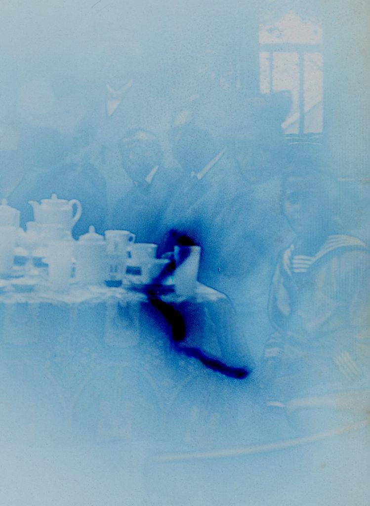 Konzentration auf den Tisch